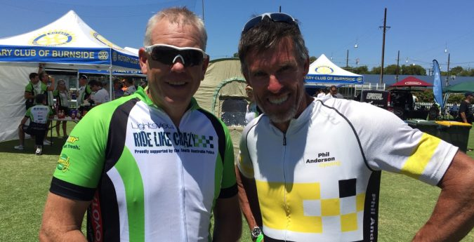 Phil Anderson Cycling tours and Ride International tours at the Tour down Under